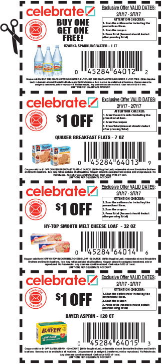 brookshire grocery coupon policy