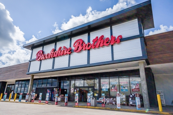 The new store front for our Huntsville Brookshire Brothers