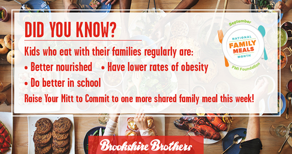 Family Meals Months Facts