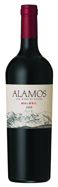 A bottle of Alamos Malbec (750ml)