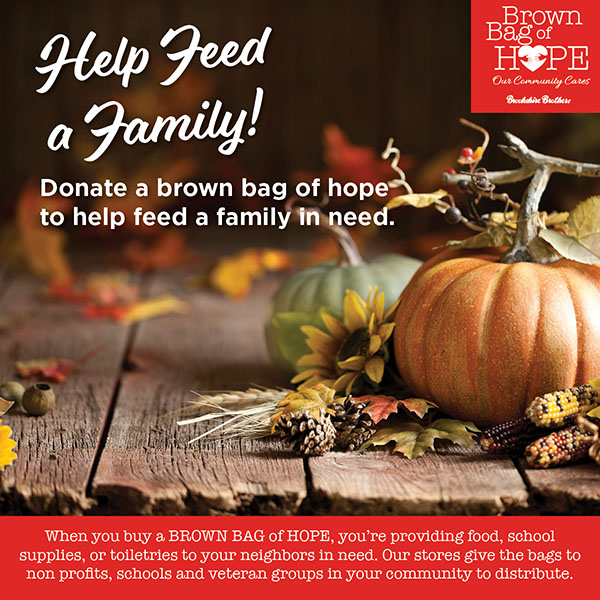 Brown Bags of Hope: Holidays 2019