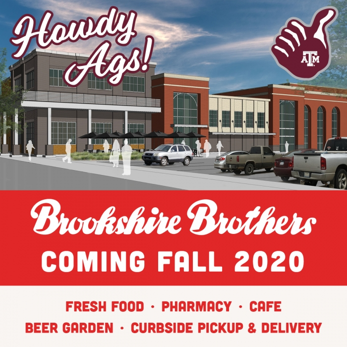 Brookshire Brothers Coming Fall 2020 To College Station