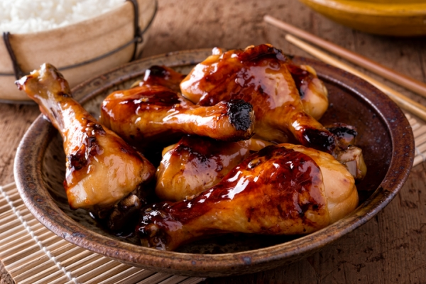 Oven Baked Barbecue Drumsticks