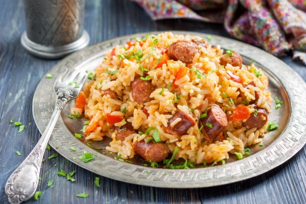 Jambalaya with Sausage