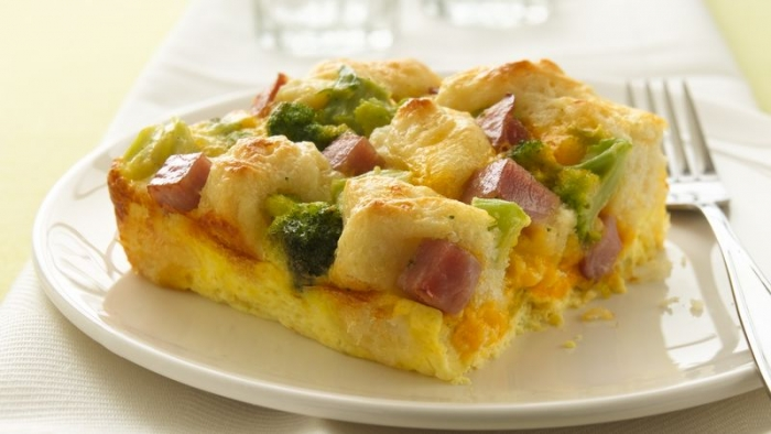 Ham and Biscuit Bake