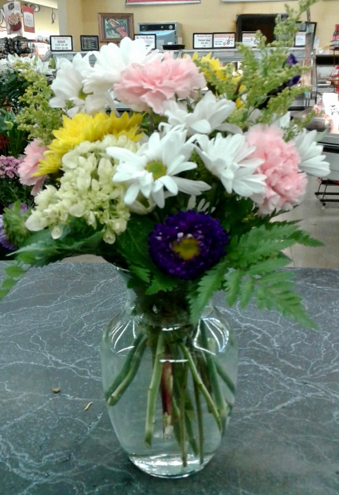 Classic Mixed Flower Arrangement