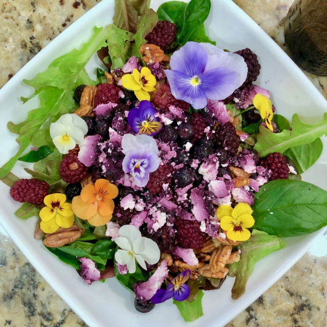 Spring Showers Bring May (Flower) Salads