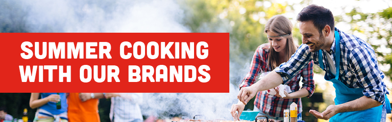Summer cooking with our brands