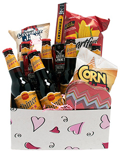 Shine on Sweetheart Gift Basket