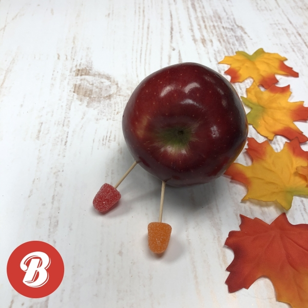 DIY Apple Turkey Legs